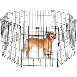 """Pet Trex 30"""" Playpen for Dogs Eight 24"""" Wide x 30"""" High Panels"""