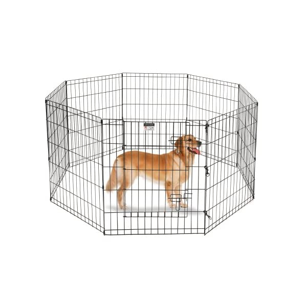 Pet Trex 30″ Playpen for Dogs Eight 24″ Wide  x 30″ High Panels