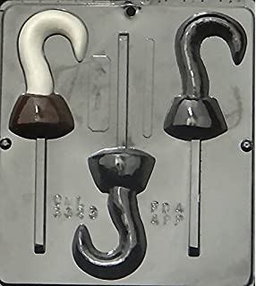 Pirate Hook Lollipop Chocolate Candy Mold 3323