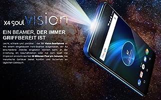 Allview X4 Soul Vision 5.5 Pulgadas Smartphone con proyector láser ...