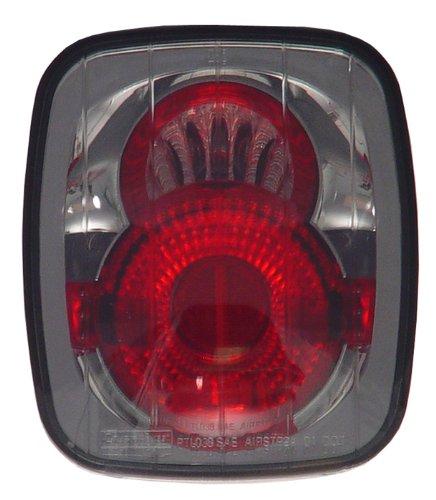 IPCW CWT-CE407CS Crystal Eyes Platinum Smoke Clear Eyes Tail Lamp - Pair