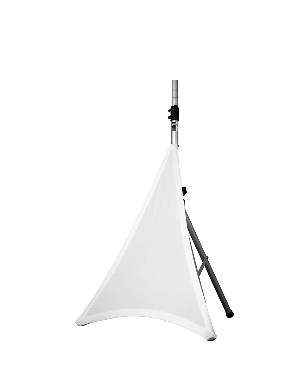Expand Vela De Trípode Blanca, Estativo De Cubierta - Forro, Cover Para Soportes De Altavoz - De Una Cara - Elásticamente Expand Stretch Covers 83312093