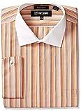 Stacy Adams Mens Big and Tall Multi Stripe Classic Fit Dress Shirt
