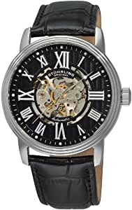 Stuhrling Original Men's 1077.33151 Classic Delphi Venezia Stainless Steel Watch with Leather Band