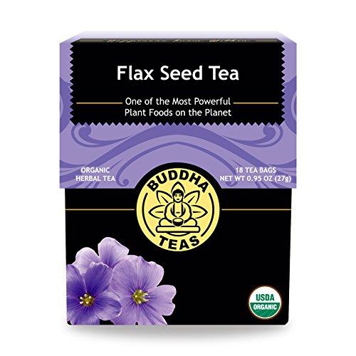 Flax Seed Tea - Organic Herbs - 18 Bleach Free Tea Bags