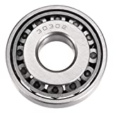 uxcell® 30302 Tapered Roller Bearing Cone and Cup Set, 15mm Bore 42mm OD 13mm Thickness