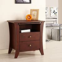 Parquay 2-Drawer Nightstand
