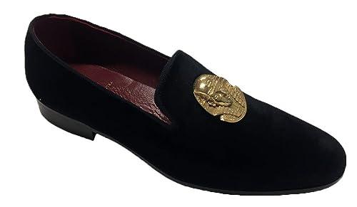 Garofalo Gianbattista - Zapatos de cordones de Piel para hombre negro negro negro Size: 44 JVNW4