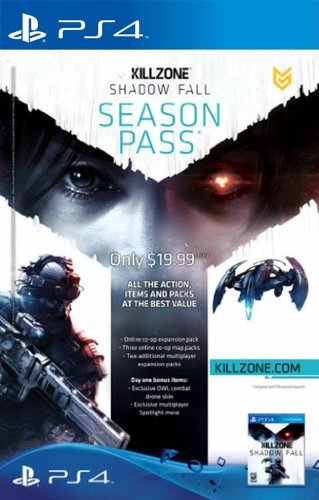 Killzone Shadow Fall Season Pass Ps4 Digital Code B00gmpjlx4
