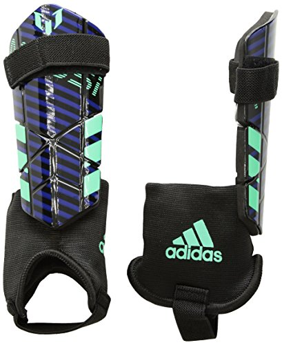 adidas Performance Messi 10 Youth Shin Guards, Navy, Small