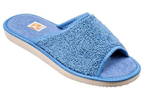 Bosaco zapatillas de lujo para las mujeres Bath Azul 1
