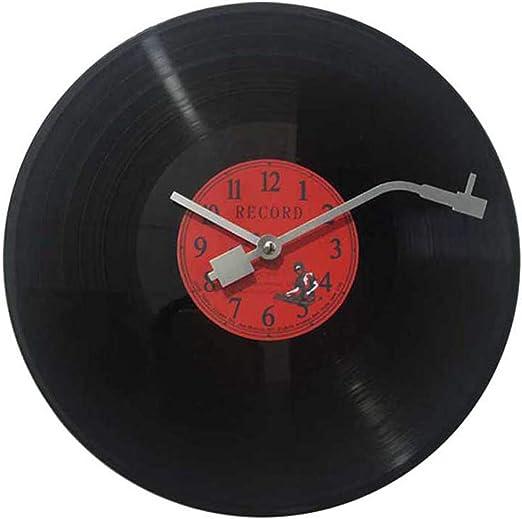 Imita Un Disco De Vinilo Musical La Manecilla De Los Minutos Es ...