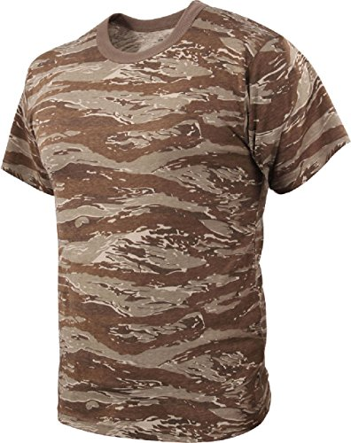 Camo T-Shirt Military Short Sleeve Tee Army Camouflage Tactical Uniform Tshirt