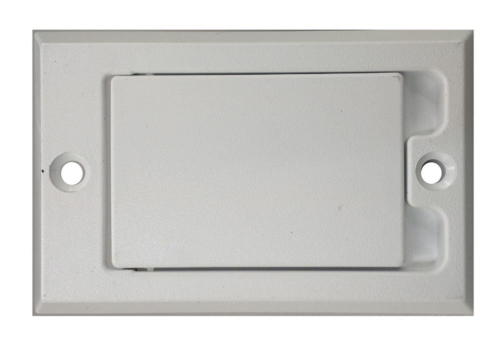 Household Supplies & Cleaning NEW Central Vacuum Square Door Inlet Valve Cover Plate White for Hayden FROM USA