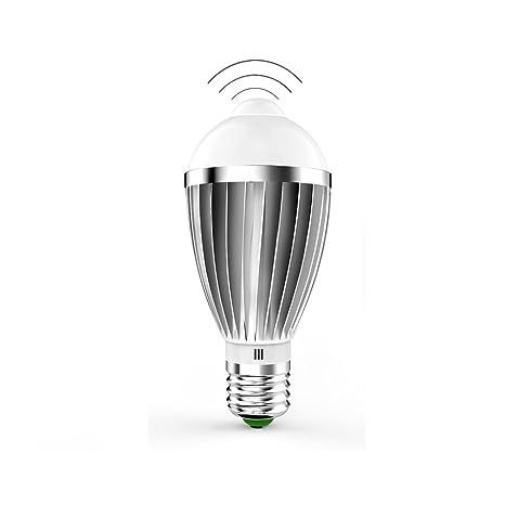 Quarice®[E27 LED Luz Bombilla con PIR Sensor] Lámpara Auto Interruptor