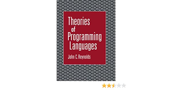 theories of programming languages reynolds john c