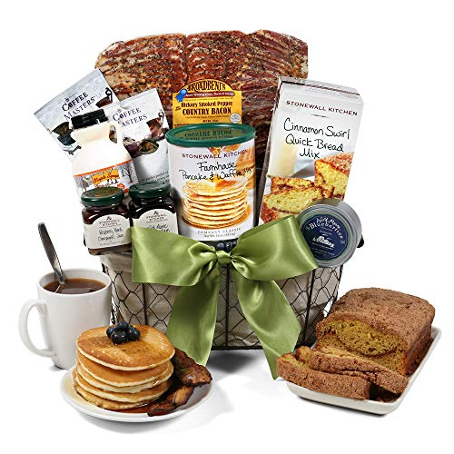 New England Breakfast Gift Basket Deluxe (Breakfast Gifts Food)