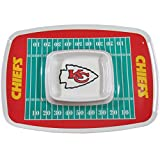 Motorhead Products NFL Kansas City Chiefs Chip N Dip Tray