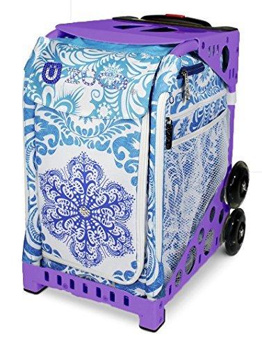 Zuca Sport Bag - Ice Garden (Limited Edition) (Purple Frame)