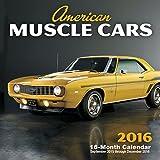 American Muscle Cars 2016 Mini: 16-Month Calendar September 2015 through December 2016