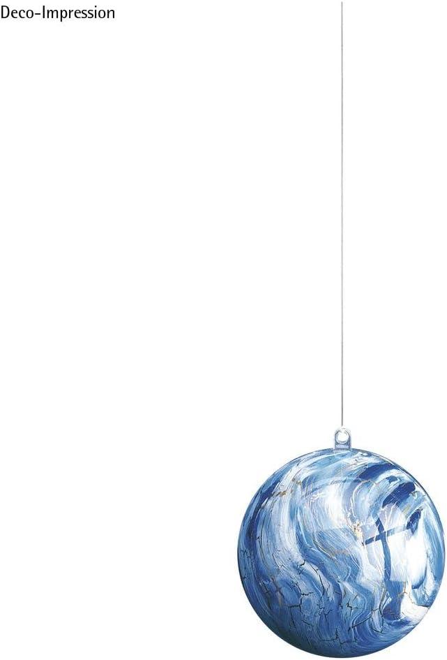 Rayher 3906437 Boule en Plastique 2 pi/èces Transparent 10 cm