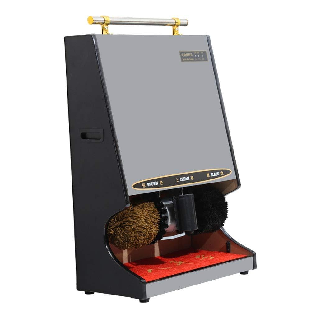Byx- Shoe-Shining Machine - Home Automatic Shoe-Shine Machine/Hotel Lobby Electric Titanium Brush Machine - A Variety of Optional -Shoe Shine kit (Color : B, Size : 1#)