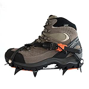 Hillsound Trail PRO Crampon Traction Device, Black, X-Large