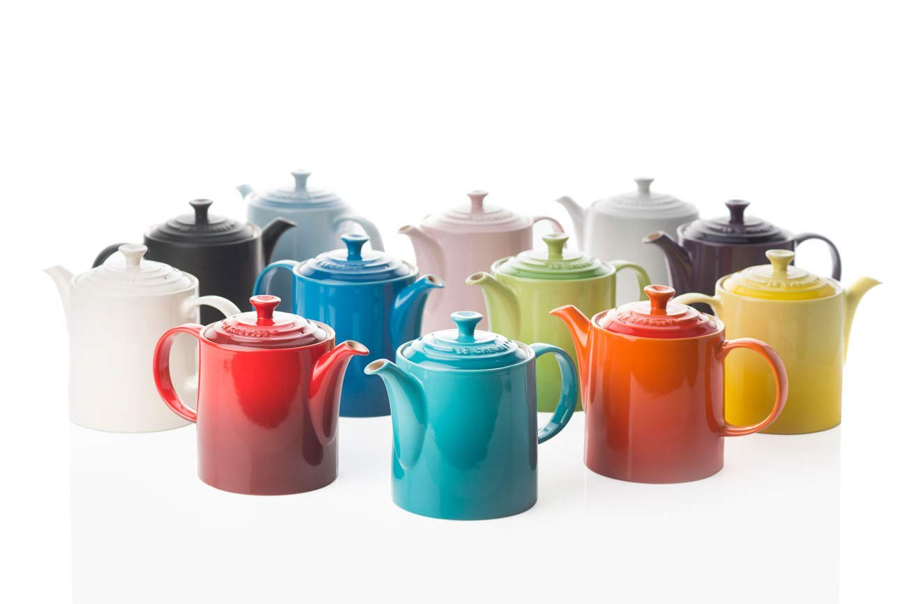 1 Each LE CREUSET Teapot Grand Carribean 1.3Lt