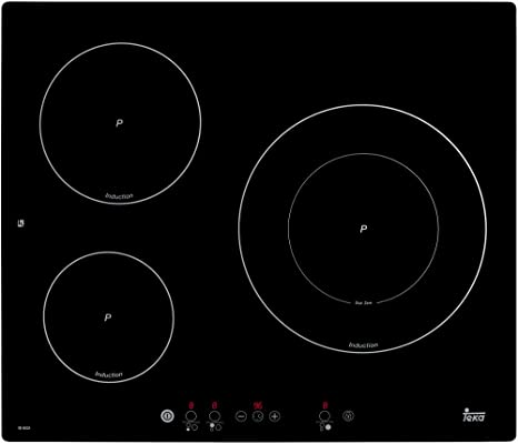 Teka IB 6031 - Placa De Inducción Ib 6031 Con 3 Zonas Power ...