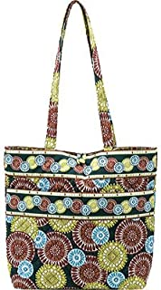 product image for Stephanie Dawn Tote - Citrus Harvest New Quilted Handbag USA 10011-006