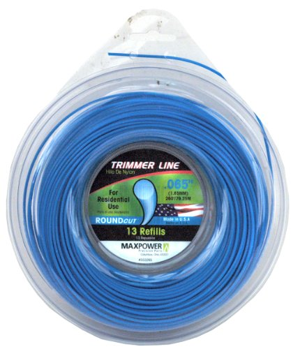 Maxpower 333265 Residential Grade Round .065-Inch Trimmer Line 260-Foot Length