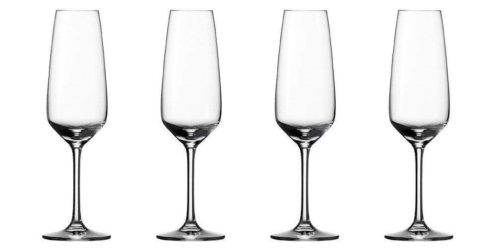 Vivo by Villeroy & Boch Group Champagne Flutes Voice Basic Glass, Set of 4 KitchenCenter 19-5300-8130 19-5300-8130_-283ml