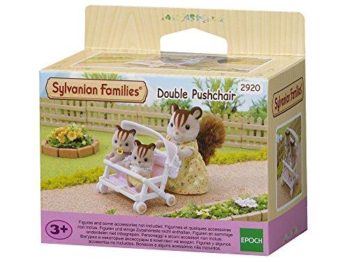 Sylvanian-Families-2920-Carrito-para-gemelos-importado-de-Alemania