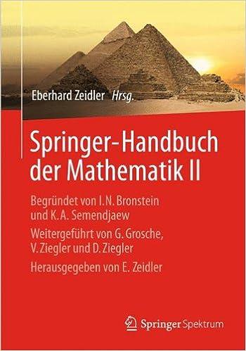 Book Springer-Handbuch der Mathematik II: 2