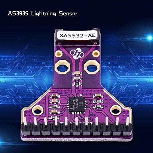 AS3935 I2C SPI Relámpago Tormenta Distancia Detector Sensor: Amazon.es: Industria, empresas y ciencia