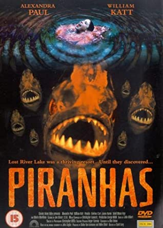 Image result for piranha movie 1995