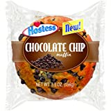 Hostess Jumbo Muffin, Chocolate Chip, 5.5 Ounce (Pack of 36)