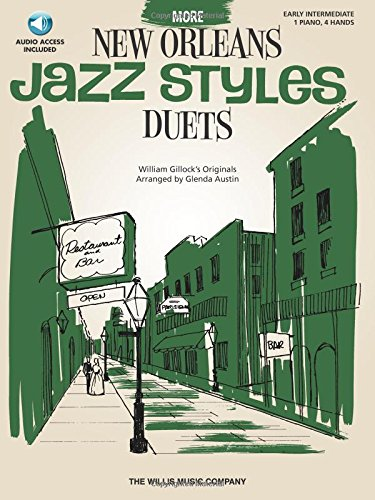 More New Orleans Jazz Styles Duets - Book/Audio: Early Intermediate ()