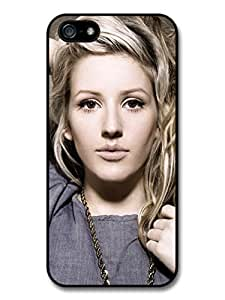 Ellie Goulding Singer Portrait with Chain Case For Sam Sung Note 2 Cover