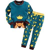 Vaenait baby 12M-7T Kids Boys 100% Cotton Sleepwear Pajama Set Boys Collection