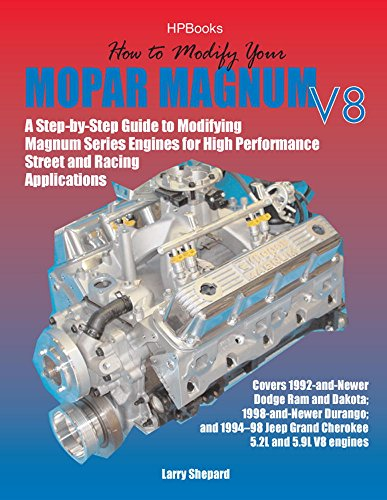 How to Modify Your Mopar Magnum V-8HP1473: A Step-by-Step Guide to Modifying Magnum Series Engines for High Performance Street and Racing Applications ()