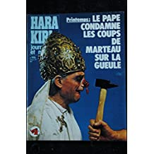 HARA KIRI 186 MARS 1977 CABU PROFESSEUR CHORON COPI WOLINSKI CAVANNA