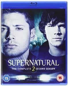 Supernatural Season 2 [Reino Unido] [Blu-ray]