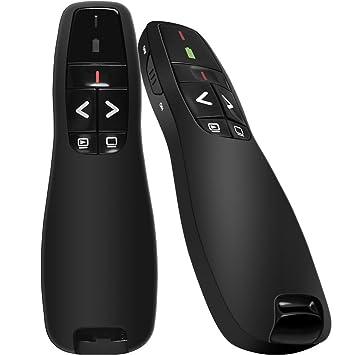 BEBONCOOL Wireless Presenter Remote, 2.4GHz Wireless USB Pow...