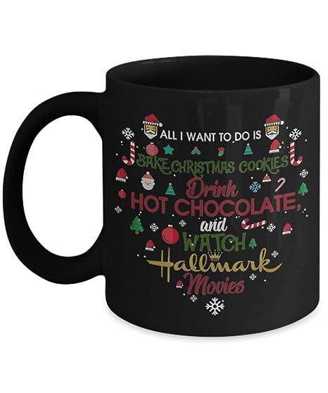 Christmas Cookies Hallmark.Amazon Com All I Want To Do Is Bake Christmas Cookies Drink