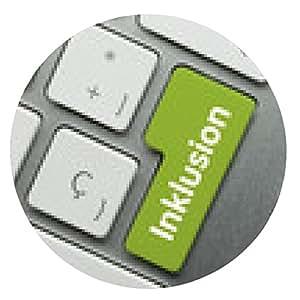 alfombrilla de ratón teclado inclusión - ronda - 20cm