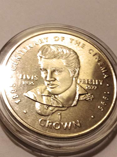 1995 Century in Cinema, Elvis Presley 90% Fine Silver Clad Canadian Collectors Round ()