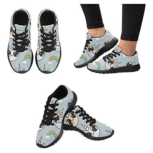 Interessante Donna Da Jogging Da Corsa Sneaker Leggera Go Easy Walking Casual Sport Da Corsa Scarpe Da Corsa Multi 4