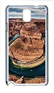 Samsung Note 3 Case World Magical Landscape Rocks PC Custom Samsung Note 3 Case Cover White