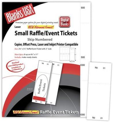 Digital Raffle//Event Tickets Ivory 801-1000
